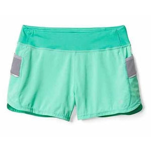 Athleta Girl Green Record Breaker Running Shorts